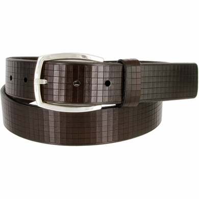 Lejon Belt Newbury Italian Genuine Leather Belt Made in USA