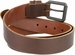 Lejon Belt Vintage Full Grain Leather Casual Jean Belt Brown Made in USA2