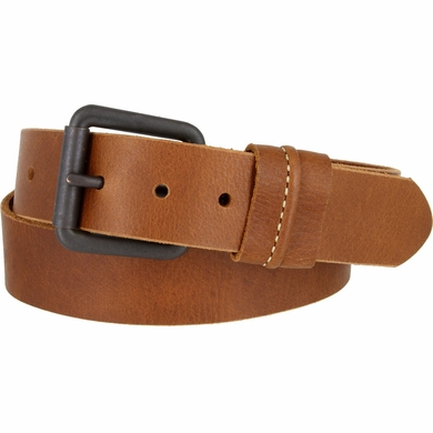 Lejon Belt Vintage Full Grain Leather Casual Jean Belt Tan Made in USA