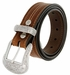 "Lejon El Dorado Western Belt Genuine Leather Belt 1-1/2"" Wide Tan Made in USA2"