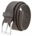 "41101 Men's Casual Suede Leather Belt 1-1/2"" wide-Gray 1"