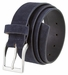 "41101 Men's Casual Suede Leather Belt 1-1/2"" wide-Navy1"