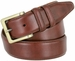 "Lejon UN-1536 Genuine Italian Calfskin Leather Dress Casual Belt 1-3/8"" (35mm) wide2"