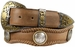 Lord Jim Western Leather Western Conchos Engraved Belt1