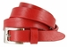 "1794/19 Women's Skinny 3/4""  Genuine Leather Dress Belt Made in Italy (Red)2"