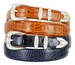 Manila Italian Calfskin Leather Designer Belt