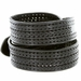Men's Fine Triple Braided Genuine Leather Casual Jean Belt - Black2