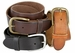 "Men's Full Grain Leather Casual Jean Belt 1-1/2"" Wide1"