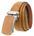 "NEW!! Men's Ratchet Handcrafted Leather Belt 1 3/8"" (35MM) Wide5"