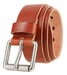 "Men's LA2062 Genuine Italian Leather Belt 1 1/4"" (32mm) Wide5"