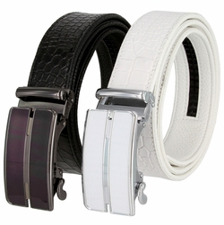 Men's Ratchet Leather Belt
