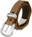 Men's Cowboy Western Horse Head rope Edge Conchos Leather Belt4