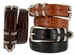 Menlo Men's Italian Calfskin dress belt