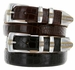Milan Italian Leather Men's Designer Belt
