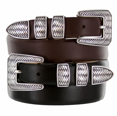 Monte Verde Designer Golf Dress Leather Belt