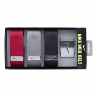 Nike 3 in 1 Web Belt Pack - Black/Gray/Varsity Red