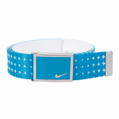 Nike Dot Print Web Belt - Light Blue Lacquer