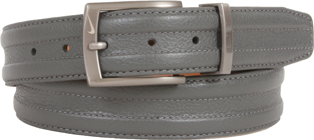 6f0c7a5ebe5 1108409 Nike Golf Tour Men s Trapunto G-Flex Leather Belt - Grey