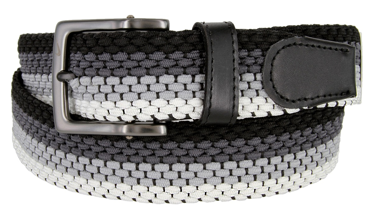 Aburrir En cantidad cerebro  Nike Men's Golf Stretch Woven Braided Belt 11228924 - Multicoloured