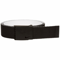 Nike New Tech Essentials Reversible Web Golf Belt - Black/White