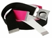 Nike Belt Web Belts 3 in 1 Pack (Black White Pink)1