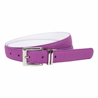 "Nike Women's Perforated To Smooth Reversible 1"" wide -  Bold Berry/White"