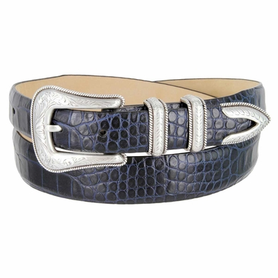 Brenton Italian Calfskin Leather Western Dress Designer Belt