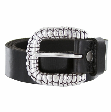 Rattler Belt Buckle Casual Jean Leather Belt