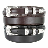 S5561 Oil Tanned Leather Ranger Belt