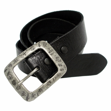 SF933036 Western Tooled Full Grain Leather Belt