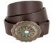 Susannah Copper Patina Buckle with Turquoise Inset Women's Western Belt3