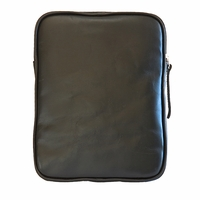Tablet eBook iPad Kindle eReader Cowhide Leather Case - Black