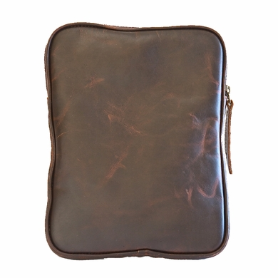 Tablet eBook iPad Kindle eReader Cowhide Leather Case - Brown