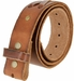 "TB 105 Brown Genuine Hand-Laced Leather Belt Strap 1-3/4""2"