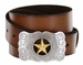 Texas Star Men's Western Leather Belt
