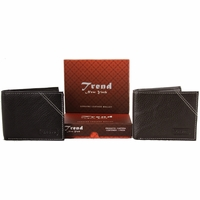 Trend New York Bari Genuine Leather Wallet Collection(Click to see more styles)