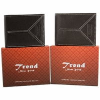 Trend New York Kiev Genuine Leather Wallet Collection(Click to see more Styles)