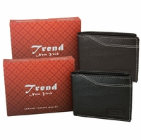 Trend New York Manlo Genuine Leather Wallet Collection(Click to see more Styles)