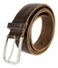 Tulliani Dot Dash Tooled Leather Belt - Brown3