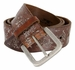 Tulliani Fiore Rustico Floral Tooled Leather Belt - Brown1