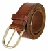 Tulliani Morse Tooled Leather Belt - Tan3