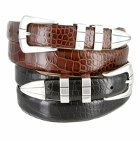 Vince Men's Designer Fashion Leather Belts