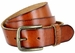 "JT Vintage Men's Vintage Full Grain Cowhide Leather Casual Jeans Belt 1-1/2"" Wide - Tan1"
