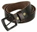 "Vintage Full Grain Cowhide Leather Casual Jeans Belt 1-1/2"" Wide BS40-P3926 - Brown2"