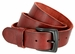 "Vintage Full Grain Cowhide Leather Casual Jeans Belt 1-1/2"" Wide BS40-P3926 - Burgundy1"