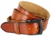 "Vintage Full Grain Cowhide Leather Casual Jeans Belt 1-1/2"" Wide BS40-P3926 - Tan1"