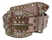 Western Bling Rhinestone Leather BeltS2
