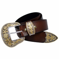 Western Leather Casual Belt