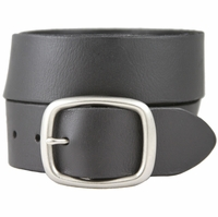 "William Genuine Full Grain Leather Belt 1-3/4"" - Black"