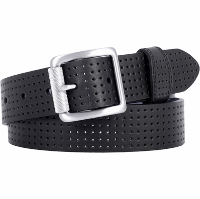 Women's Nike Golf Belt Perforated Nappa Leather Black 1303301